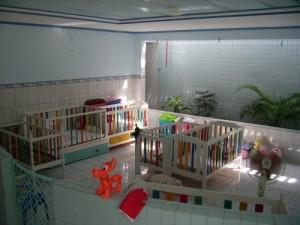 Die Kinderkrippe für die unter Zweijährigen nach der Sanierung 2006.