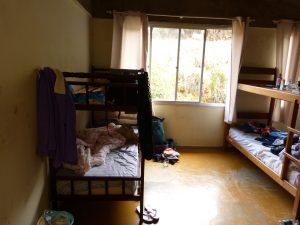 Schlafzimmer der EFA für 10 Leute